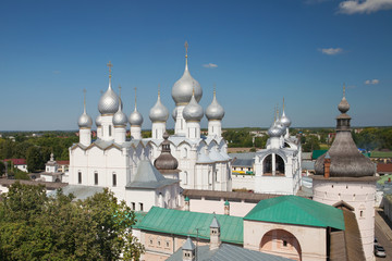 The Resurrection of Christ and Assumption Cathedral in Rostov