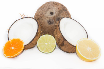 кокос и цитрусовые