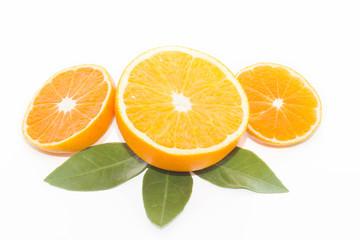 мандарин и апельсин