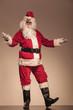 Santa Claus welcoming you