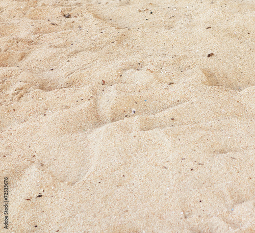 canvas print picture sand beach