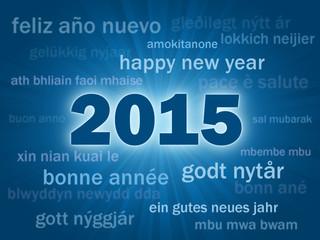 "Carte ""2015"" (joyeux noël bonne année joyeuses fêtes)"