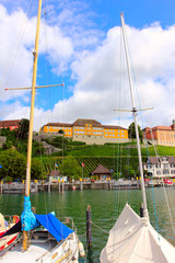 meersburg on the lake constance