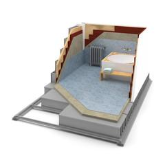 Cuarto de Baño - Calefacción - Aislamiento Térmico