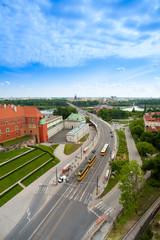 Bridge over Wisla in Warsaw