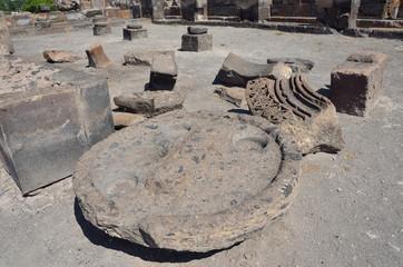 Руины храма Звартноц, Армения