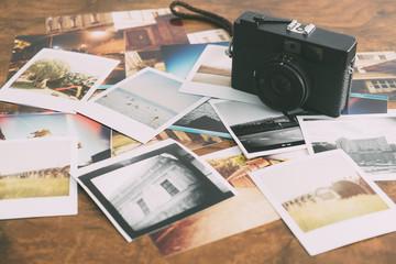 old instant pictures