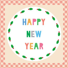 Happy new year greeting card15