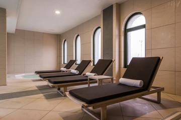 deckchairs  jacuzzi  health spa