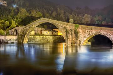 Ponte del Diavolo Toscana Italia