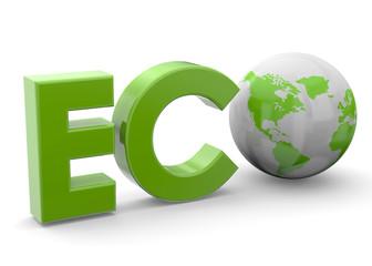 Eco Planet Concept - 3D