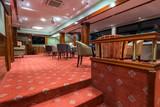 Hotel lobby interior cafe