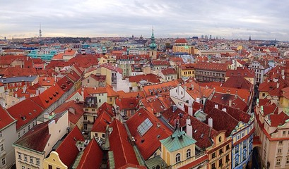 Beautiful town of Praha