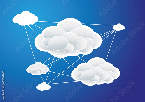 linked clouds - 72547023