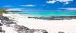 canvas print picture - plage de l'anse Ally, côte est de l'île Rodrigues