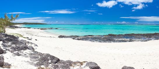 plage de l'anse Ally, côte est de l'île Rodrigues