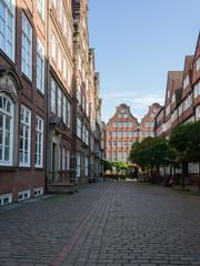 Alte Kaufmannshäuser in Hamburg
