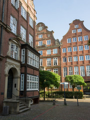 Kaufmannshäuser in Hamburger Neustadt