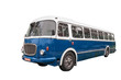 Old bus + clipping path - 72548606