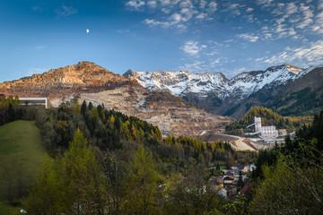 The Erzberg mine-Styria,Austria.