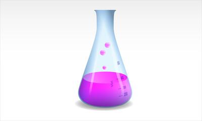 beuta, provetta, chimica, laboratorio chimico