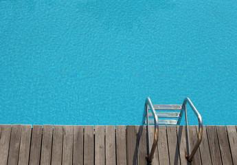pool in sunlight