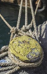 Close up ropes