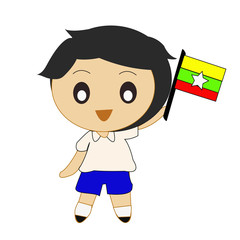 Cartoon ASEAN Myanmar
