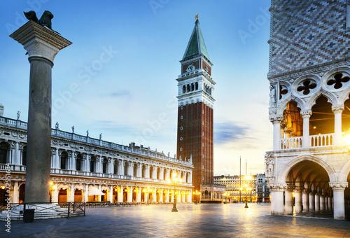 Zdjęcia na płótnie, fototapety na wymiar, obrazy na ścianę : Saint Mark square Venice