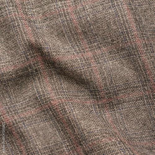 Poster Tweed jacket fragment