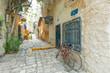 Typical alley in Jaffa, Tel Aviv - Israel - 72552096