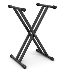 Musical synthesizer stand