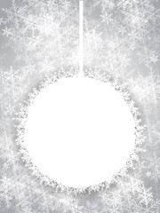 Snowy Christmas Banner