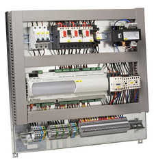 Electrical control panel.