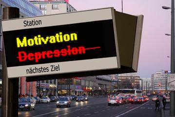 Anzeigetafel 5 - Motivation
