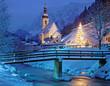 weihnachtliche Kapelle von Ramsau bei Berchtesgaden - 72555836