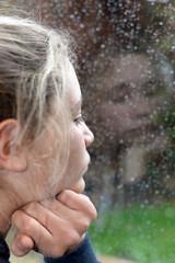 regarder la pluie
