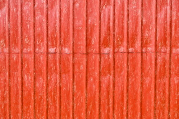 red metal wall  - illustration based on own photo image