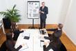 Man explaining business concepts