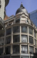 Sarmiento y Florida in Buenos Aires