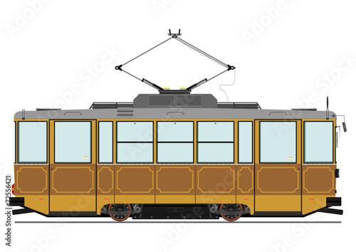 Vintage tram - 72556421