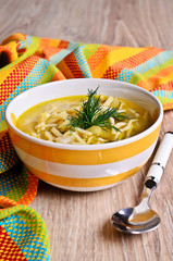 Soup with pasta