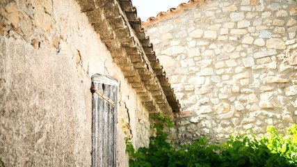 Old stone property in cute little village in South of France