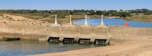 Barrage du chenal du Havre - Olonne sur Mer