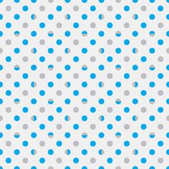 Vector Background # Polka Dot Pattern, Bluegray