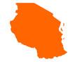 Karte von Tansania