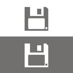 Icono diskette BN
