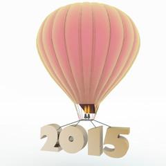 2015 a year flies on a balloon
