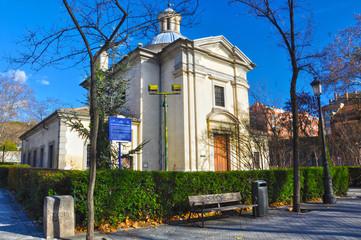 Madrid, ermita de San Antonio de la Florida, Goya