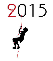 illustrazione simbolica sull'arrivo del nuovo anno